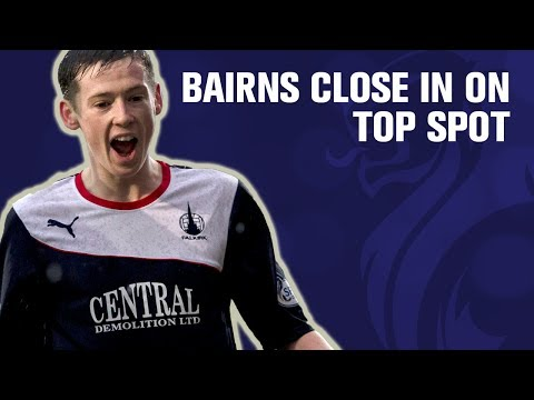 Loy & McGrandles net as Bairns close in on top spot
