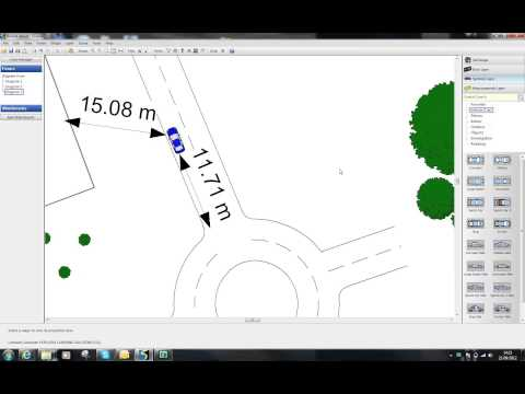 Using Google Earth to map to scale diagrams