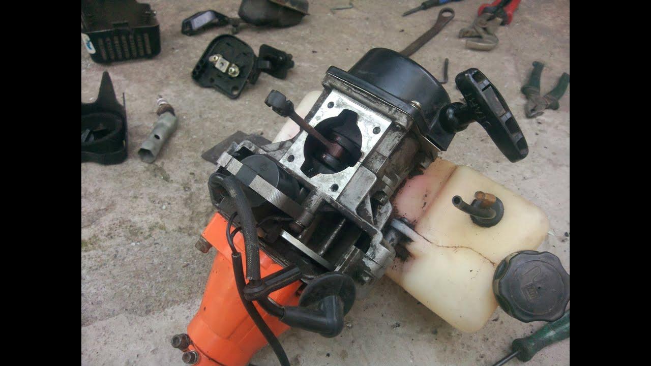 Ремонт двигателя бензокосилки своими руками