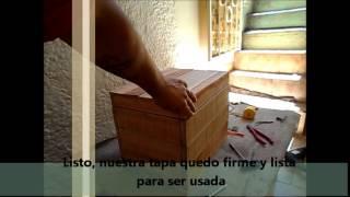 Caja de herramientas con madera de palets