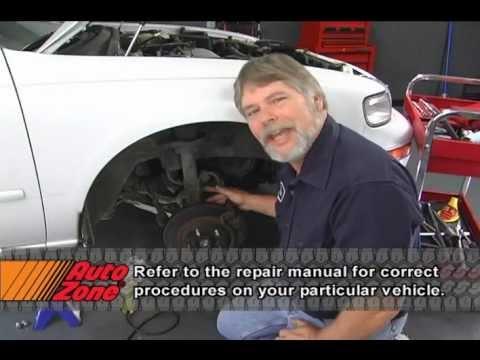 Removing The Front Strut - AutoZone Car Care