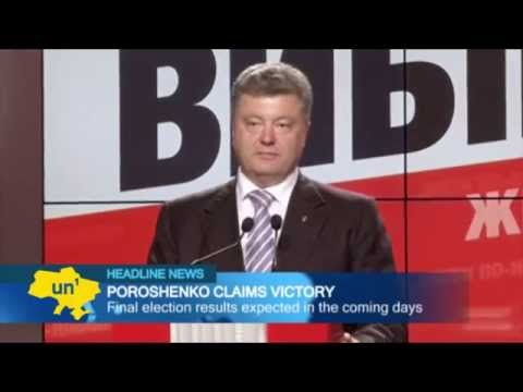 Poroshenko Claims Victory: Ukrainian billionaire set to become nation's fifth president