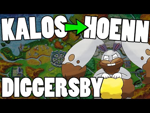 Kalos to Hoenn - ORAS Diggersby Move Tutor Moveset & Strategy Guide! Diggersby ORAS Strategy
