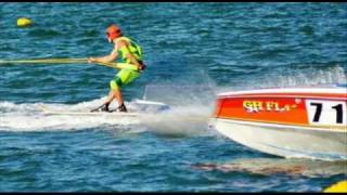 Moreton Bay World's Water Ski Racing course trial 2010 - The day captured by 4 x Photographers
