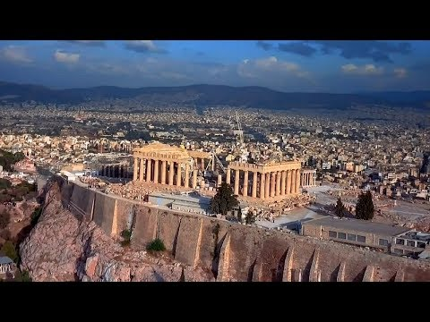 Parthenon, Athens - Greece (HD)