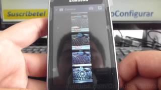 Como Eliminar Fotos Del Samsung Galaxy Fame S6810 Español