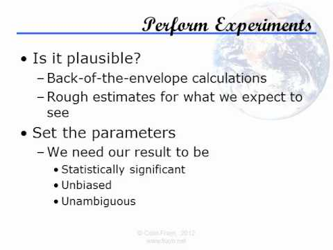 Understanding Science - Lecture 3: Scientific Method