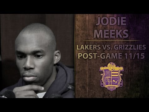 Lakers vs Grizzlies: Jodie Meeks On Teams' Closing Struggles, Has Confidence Wavered?