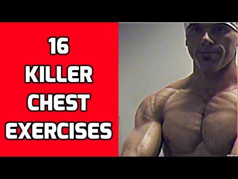 16 Killer Chest Exercises for your Chest Workouts