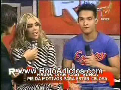 Maura Rivera &  Ivan Cabrera TvGRama Rojo fama
