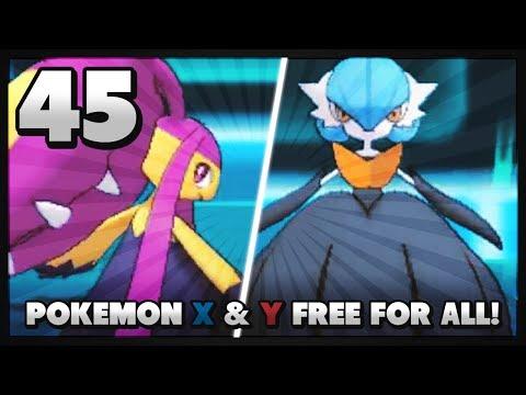 Pokemon X and Y Free For All: Vs DuncanKneeDeep Vs RogersBase Vs Chr1sCr0ss