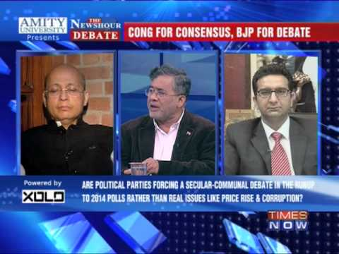 The Newshour Debate: Communal violence bill debate - Part 1 (5th Dec 2013)