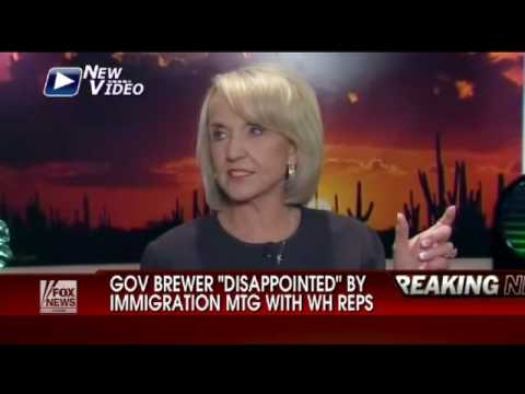 AZ Gov. Brewer: Disappointed in Administration