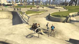 GTA 5: Chop The Dog (Special Tricks)