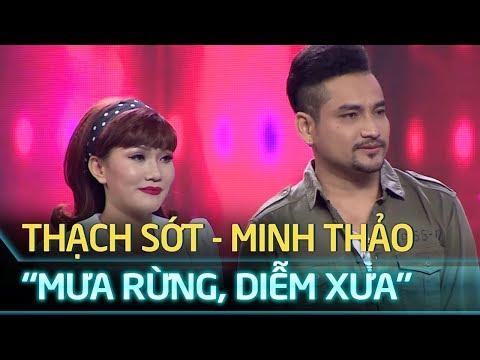 Tuyệt Đỉnh Song Ca Tập 12 - Mưa rừng, Diễm xưa - Thạch Sớt, Minh Thảo
