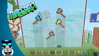 Tutorial Pixel Art De Hacha De Minecraft En Español (Como