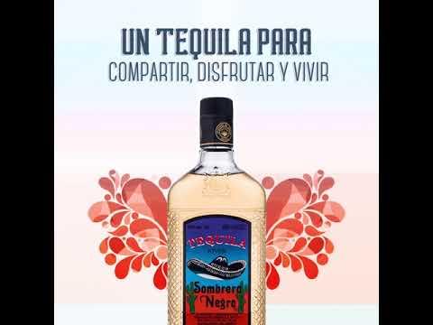 GIF Tequila Sombrero Negro