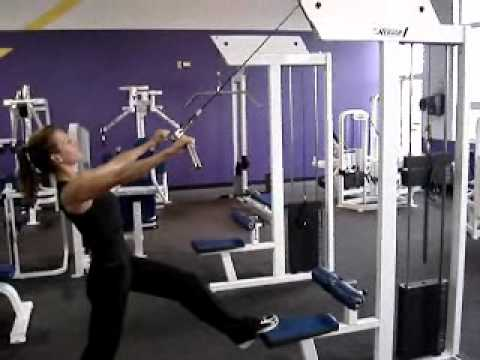 Standing Lat Pulldown - YouTube