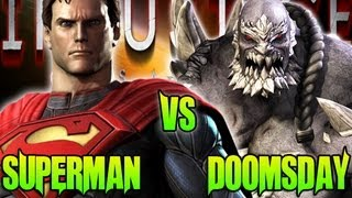 Injustice What If Battle Superman Vs Doomsday