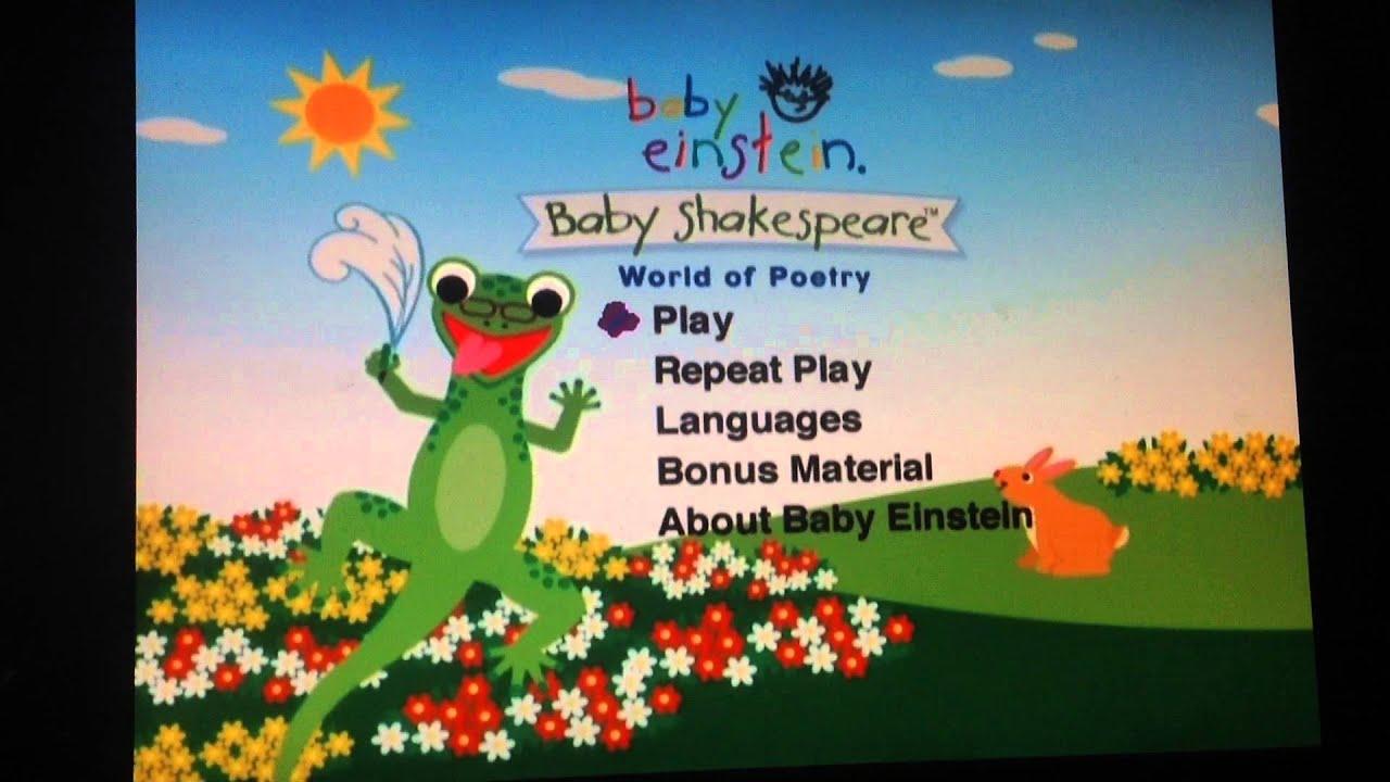 Baby Einstein Baby Noah Dvd Menu Baby einstein