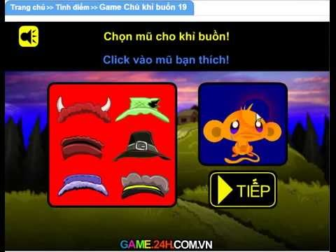 Game chú khỉ buồn 19 ( Game.24h.com.vn )