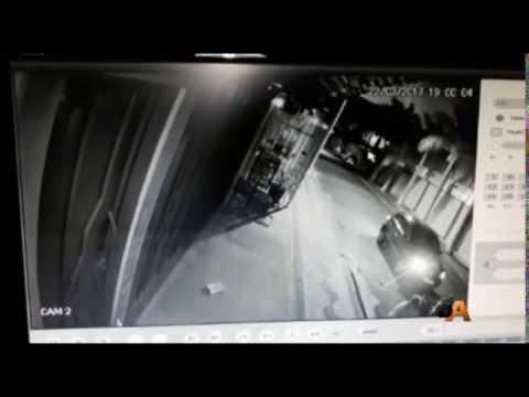 Vídeo Tentativa de homicídio é flagrada por Câmera de segurança em Descalvado, SP