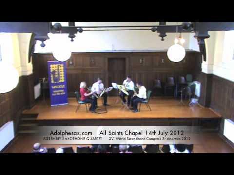 WSCXVI ASSEMBLY SAXOPHONE QUARTET   Untitled by Simon Fink