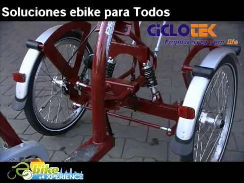 Triciclo eléctrico en ebikBoadilla