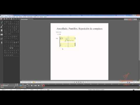 Teoría de guitarra - Tresillo, Dosillo, Puntillos y repetir compás
