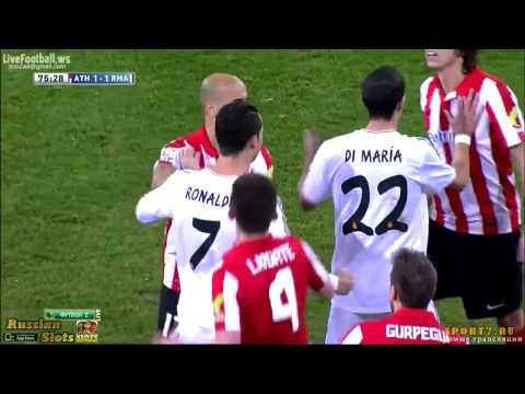 Cristiano Ronaldo Red Card vs Athletic Bilbao ~ Real Madrid vs Athletic Bilbao 1 1 FULL HD