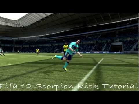 FIFA 12 Skills Tutorial - The Scorpion Kick Indepth Tutorial HD - PS3 & Xbox 360