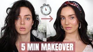 0-100 Beauty Transformation! Quick Makeup Tips \\ Chloe Morello