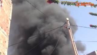 بالفيديو.. حريق مهول شب في محل للأفرشة بمراكش | قنوات أخرى