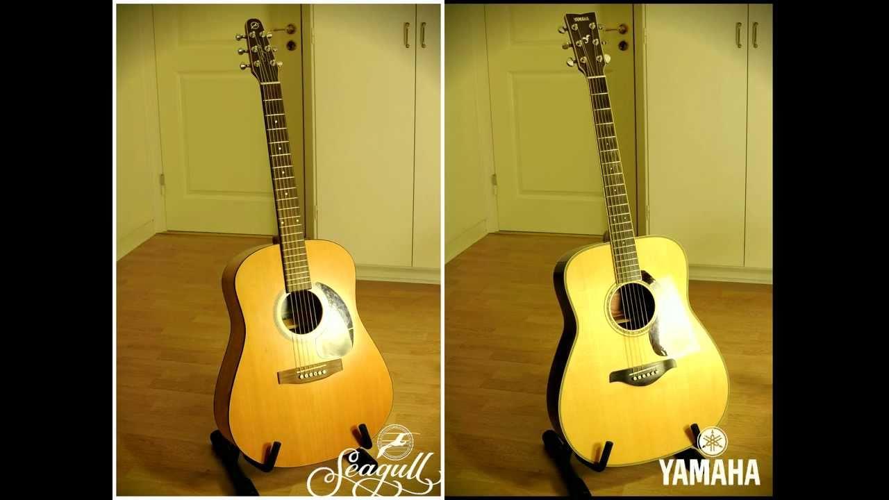 Seagull Vs Yamaha