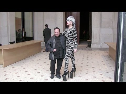 EXCLUSIVE: Lady Gaga meeting with Azzedine Alaia in Paris