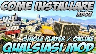 """GTA 5 ONLINE:Come INSTALLARE MOD """"ISO Mod"""" (XBOX 360) ITA"""