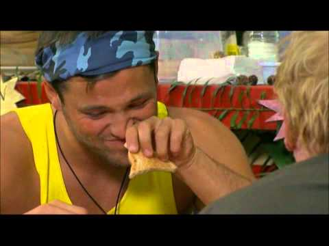 I'm A Celebrity 2011 - Bush Tucker Trial 2 - Greasy Spoon (14/11/2011)