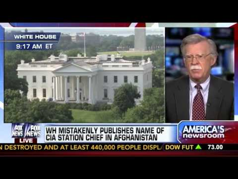 John Bolton Reacts to Obama CIA Leak