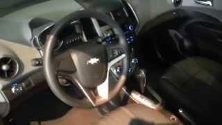 Interior Chevrolet Sonic Lt Sedan 2014 Precio