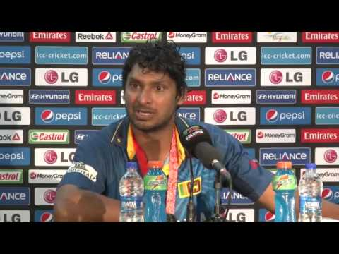Final  Sri Lanka's Kumar Sangakkara PC