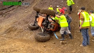 ORANGE SINGLE SEATER TAKES A WILD RIDE. MadRam11 Багги Видео. Buggy Video.