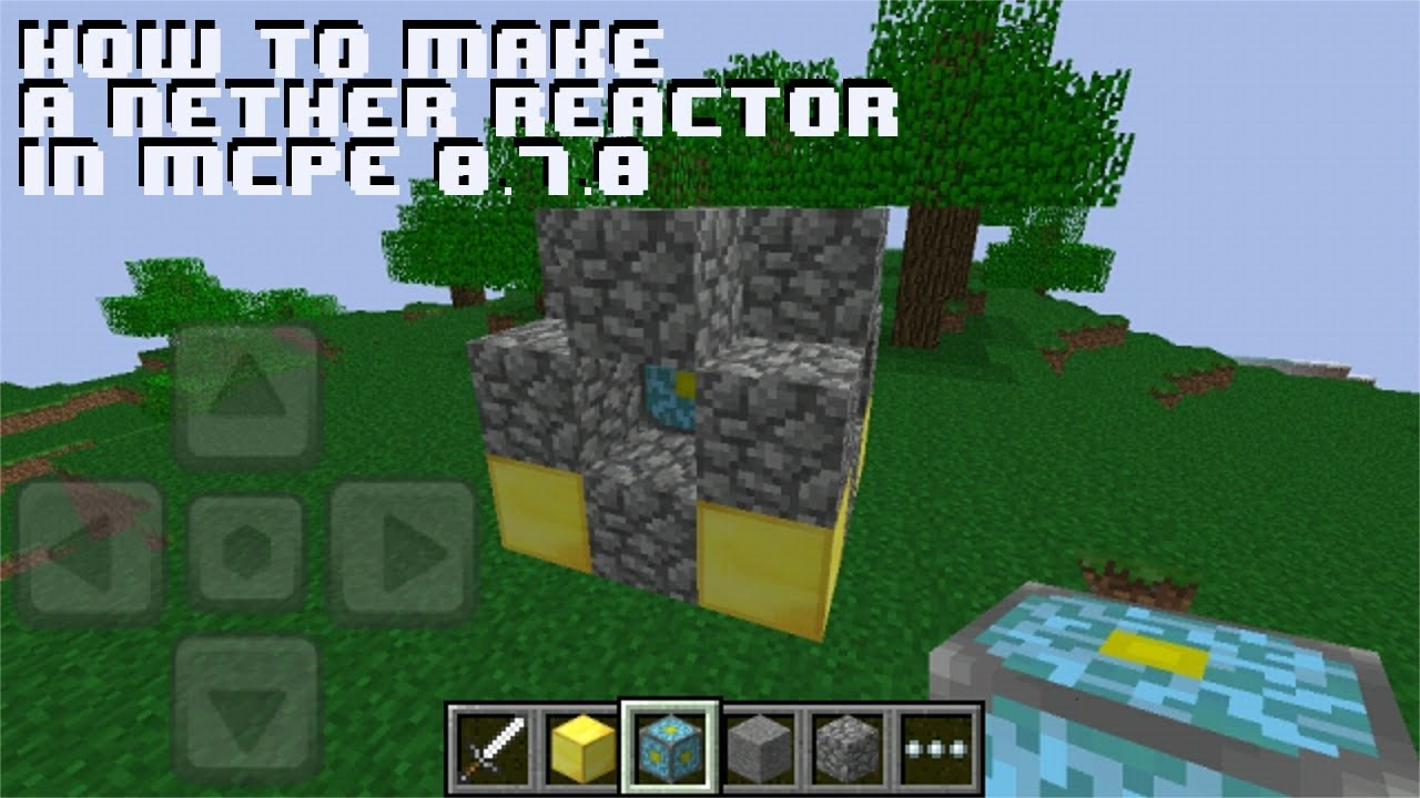 Minecraft How To Build A Nether Portal On Ipod
