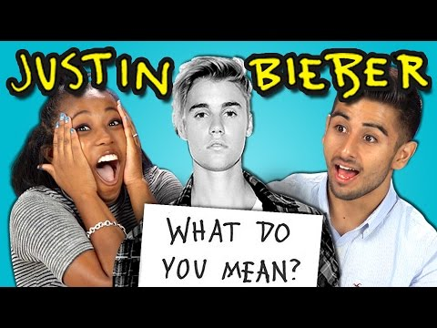 Teens React to Justin Bieber - What Do You Mean?