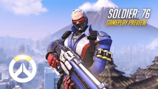Overwatch - Soldier: 76 Gameplay Preview