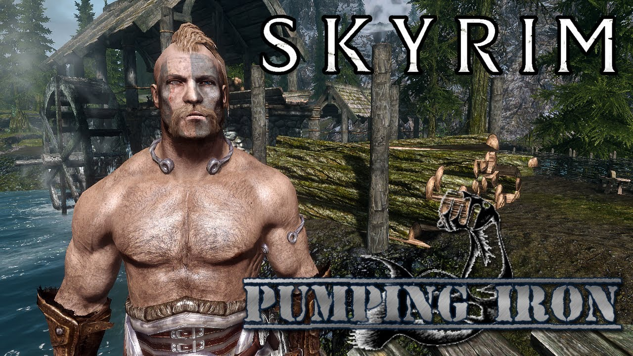 Skyrim female muscle growth mod