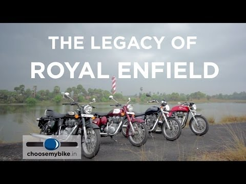 The Legacy of Royal Enfield : Bullet 500, Classic 350, Thunderbird 350 & Continental GT
