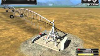 How To Use Pivot Irrigation System For Farming Simulator