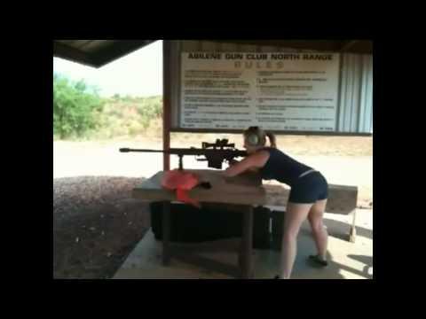 mulheres atirando atiradoras barret!