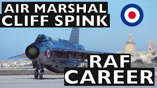 Interview with Air Marshal Cliff Spink on his RAF Career