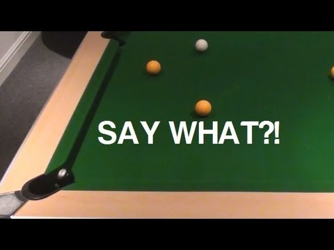 English Pool Clearance- UNLUCKIEST SHOT EVER!